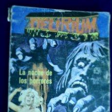 Cómics: DELIRIUM. LA NOCHE DE LOS HORRORES. COMIC. Lote 129734451