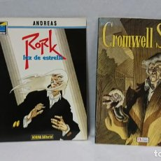 Cómics: LOTE CROMWELL STONE Y RORK LUZ DE ESTRELLA . Lote 130115083
