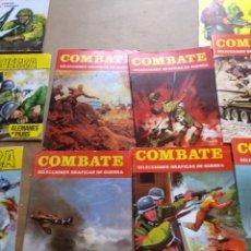 Cómics: LOTE SARGENTO TIGRE GUERRA COMBATE Y LECTURA PARA JOVENES. 41 EJEMPLARES.. Lote 130311548