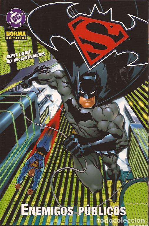 COMIC-SUPERMAN BATMAN ENEMIGOS PUBLICOS DC COMICS NORMA (Tebeos y Comics Pendientes de Clasificar)