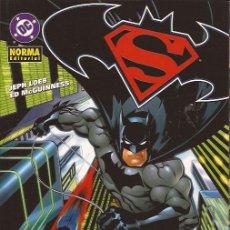 Cómics: COMIC-SUPERMAN BATMAN ENEMIGOS PUBLICOS DC COMICS NORMA. Lote 130313714