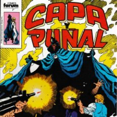 Cómics: CAPA Y PUÑAL. FORUM 1989. Nº 6. Lote 130416162