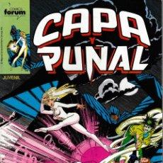 Cómics: CAPA Y PUÑAL. FORUM 1989. Nº 4. Lote 130416170