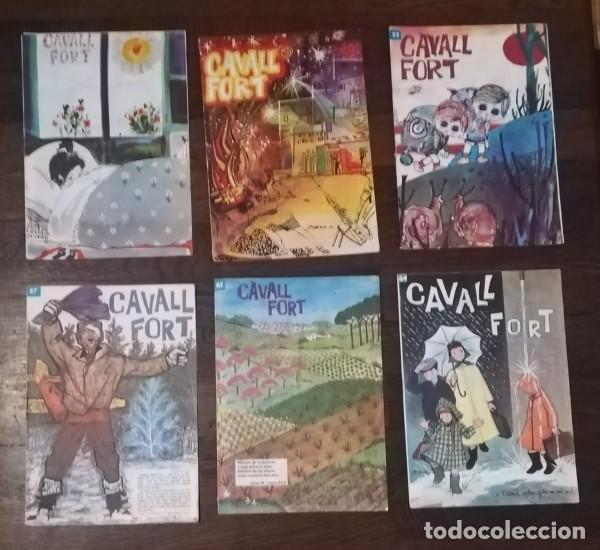 LOTE 6 NUMEROS CAVALL FORT: 45, 48, 52, 57, 61, 64. JEP I FIDEL MADORELL, LA PATRULLA DELS CASTORS.. (Tebeos y Comics - Comics otras Editoriales Actuales)