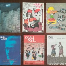Cómics: LOTE 6 NUMEROS CAVALL FORT: 417/418, 419, 420, 422, 424, 435. AQUIL·LES TALO, EN CAMUS, PILARIN BAYE. Lote 130537894