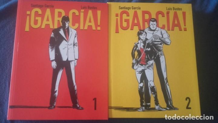 ¡GARCÍA! COMPLETA 2 TOMOS- SANTIAGO GARCÍA Y LUIS BUSTOS 2 TOMOS (Tebeos y Comics - Comics otras Editoriales Actuales)