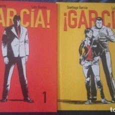 Cómics: ¡GARCÍA! COMPLETA 2 TOMOS- SANTIAGO GARCÍA Y LUIS BUSTOS 2 TOMOS. Lote 130601678