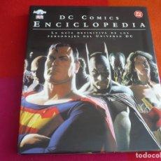 Cómics: DC COMICS ENCICLOPEDIA ¡MUY BUEN ESTADO! TAPA DURA GIGANTE BATMAN SUPERMAN WONDER WOMAN FLASH. Lote 130694364