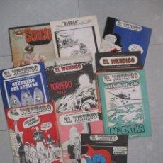 Cómics: EL WENDIGO - REVISTA ASTUR AÑOS 70 / 80 - 10 EJEMPLARES. Lote 130703319