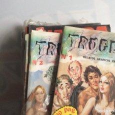 Cómics: TROGLOS Nº 1 Y 2 RELATOS GRAFICOS PARA ADULTOS. Lote 130724374