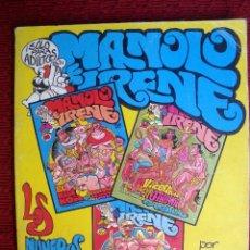 Cómics: EL MANOLO Y LA IRENE Nº 28, 29 Y 30. Lote 130757344