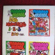 Cómics: EL MANOLO Y LA IRENE Nº 1, 2 Y 3.. Lote 130757448