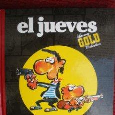 Cómics: EL JUEVES, LUXURY GOLD COLLECTION, MAKINAVAJA, GOLDEN YEARS, IVÀ. TAPA DURA.. Lote 131963870