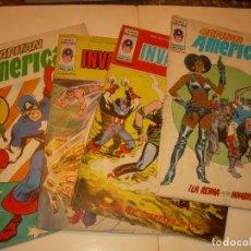Cómics: CUATRO COMICS .......CAPITAN AMERICA...AÑO 1979. Lote 130782636