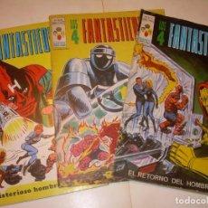 Cómics: TRES COMICS .......LOS 4 FANTASTICOS...AÑO 1978. Lote 130782804