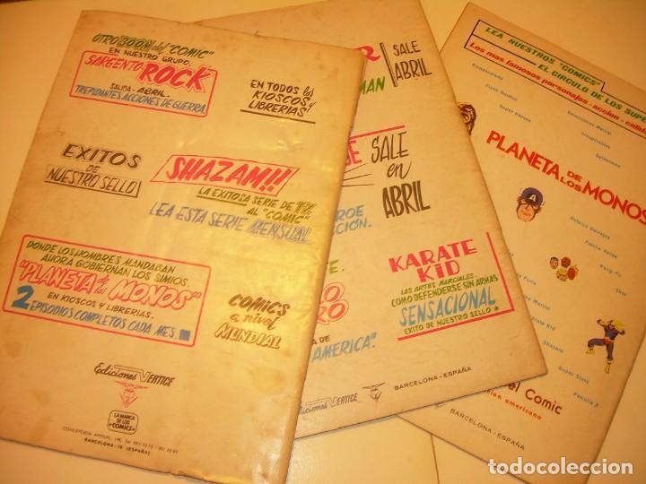 Cómics: TRES COMICS .......LOS 4 FANTASTICOS...AÑO 1978 - Foto 5 - 130782804