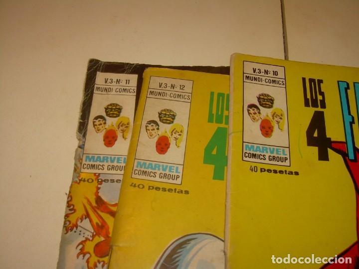 Cómics: TRES COMICS .......LOS 4 FANTASTICOS...AÑO 1978 - Foto 6 - 130782804