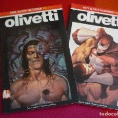 Cómics: ARIEL OLIVETTI SKETCHBOOK VOL II Y III 2 Y 3 ¡MUY BUEN ESTADO! . Lote 130885800