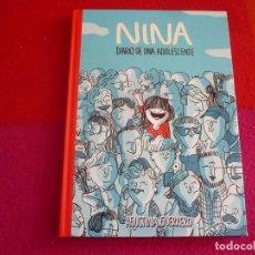 Cómics: NINA DIARIO DE UNA ADOLESCENTE ( AGUSTINA GUERRERO ) ¡MUY BUEN ESTADO! TAPA DURA MONTENA. Lote 130957980