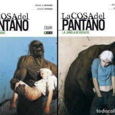 Cómics: LA COSA DEL PANTANO DE BRIAN K. VAUGHAN (TOMOS 1 Y 2) ECC EDICIONES. Lote 131026912