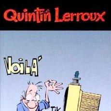 Cómics: QUINTIN LERROUX Nº 1 Y 2 - DUDE - MUY BUEN ESTADO - OFI15T. Lote 131058440