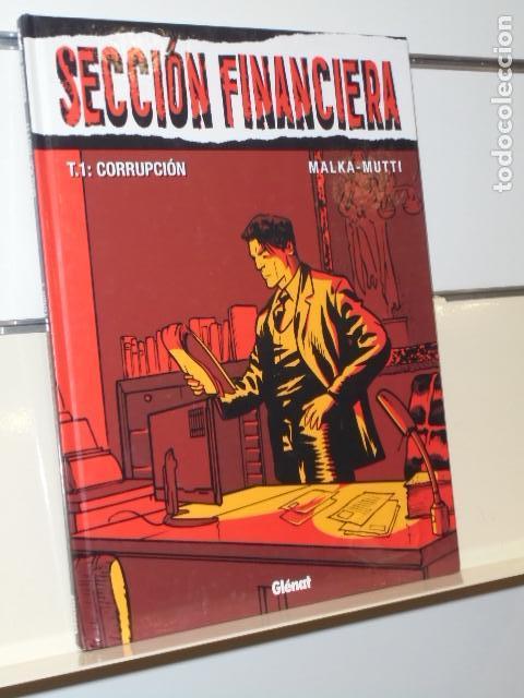 SECCION FINANCIERA TOMO 1 CORRUPCION - GLENAT - OFERTA (Tebeos y Comics - Comics otras Editoriales Actuales)
