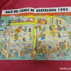 Cómics: SALÓ DEL CÒMIC DE BARCELONA 1993. Lote 131073324