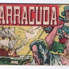 Cómics: BARRACUDA # 1 PAUL CORYDON CARLOS CLEMEN 1956 FANTASMA GRIS CABALLERO NEGRO IMPECABLE ESTADO 34 PAG. Lote 131076240