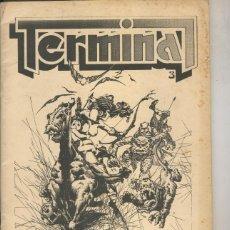 Cómics: TERMINAL NUMERO 3 (FANZINE CIENCIA FICCION, FANTASIA). Lote 131149543
