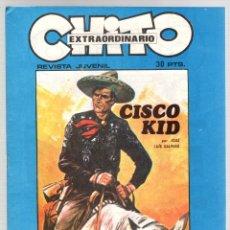 Cómics: CHITO EXTRAORDINARIO. CISCO KID. EL ROBO DEL TREN. EDIPRESS, AÑO 1974. Lote 131169976