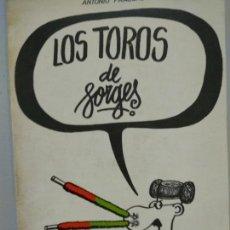 Cómics: FORGES - LOS TOROS DE FORGES. Lote 131173188