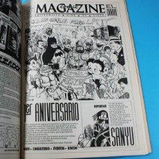 Cómics: RETAPADO COMIC MAGAZINE EL DIARIO JUL DIC 1990, NUMEROS 1, 2, 3 (SIN CARGO)4 Y 5/6 (NUMERO DOBLE). Lote 131176008