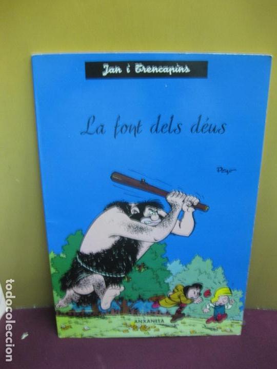 JAN I TRENCAPINS. LA FONT DELS DEUS. PEYO / JANE. LLIBRES ANXANETA 1965 (Tebeos y Comics - Comics otras Editoriales Actuales)
