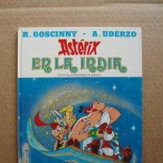 Cómics: ASTERIX EN LA INDIA 1987 EDICIONES JUNIOR GRIJALBO TAPA DURA. Lote 131301599