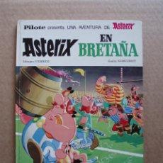Comics: ASTERIX EN BRETAÑA 1970 EDITORIAL BRUGUERA TAPA DURA. Lote 131302507