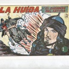 Cómics: FACSIMIL: EL GUERRERO DEL ANTIFAZ NUMERO 167: LA HUIDA. Lote 131318543