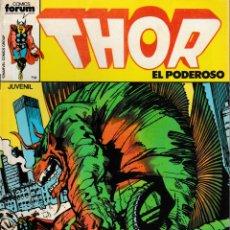 Cómics: THOR EL PODEROSO. FORUM 1983. Nº 28. Lote 131346123
