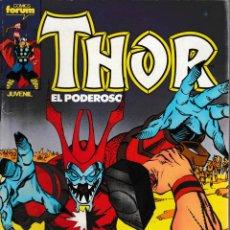 Cómics: THOR EL PODEROSO. FORUM 1983. Nº 33. Lote 131346143