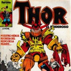 Cómics: THOR EL PODEROSO. FORUM 1983. Nº 45. Lote 131347243