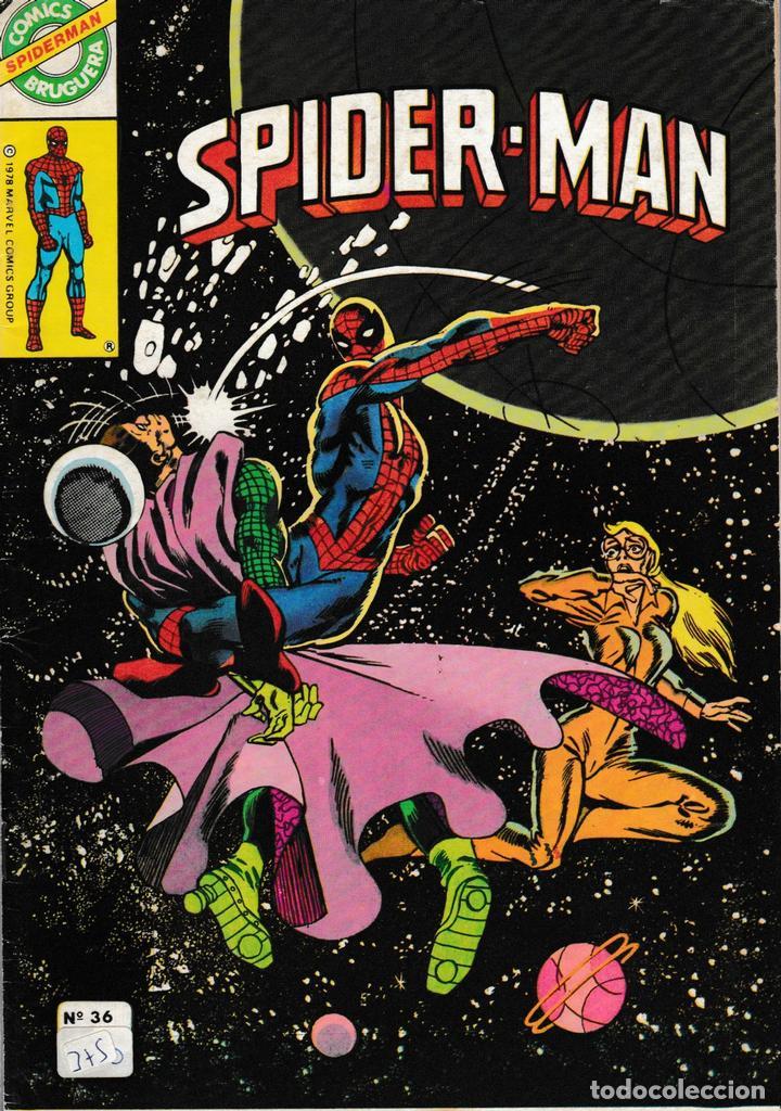 SPIDERMAN. BRUGUERA 1980. Nº 36 (Tebeos y Comics - Comics otras Editoriales Actuales)