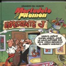 Cómics: EL PERIODICO: GRANDES DEL HUMOR NUMERO 01: MORTADELO Y FILEMON: EXPEDIENTE J. Lote 131451723