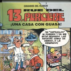 Cómics: EL PERIODICO: GRANDES DEL HUMOR NUMERO 09: 13 RUE DEL PERCEBE: UNA CASA CON GUASA. Lote 131451797