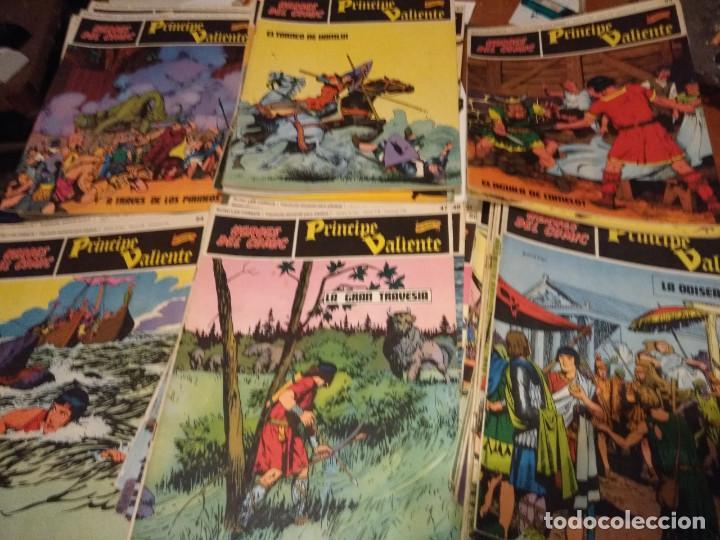 EL PRINCIPE VALIENTE ( LOTE DE 39 COMICS ) BURU LAN, 1972 (Tebeos y Comics - Buru-Lan - Principe Valiente)