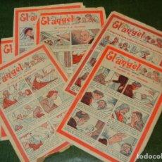 Cómics: EL ANGEL - PUBLICACION SEMANAL - LOTE DE 6 NUMEROS 274, 279, 337, 340, 347, 351 . Lote 131613814
