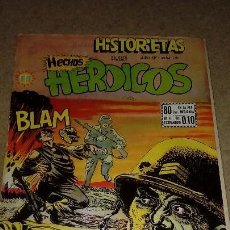 Cómics: HISTORIETAS Nº 191 HECHOS HERÓICOS EDITORIAL SOL MÉJICO AÑO 1953 MUY DIFÏCIL. Lote 131641082
