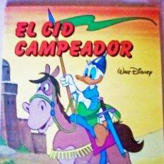 Cómics: COLECCIÓN LA MÁQUINA DEL TIEMPO - WALT DISNEY - EL CID CAMPEADOR - EVEREST. 1984. Lote 131741982