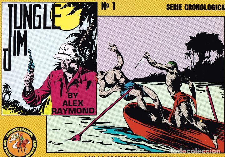 JUNGLE JIM.NÚMERO 1.ALEX RAYMOND.EDICIONES ESEUVE. (Tebeos y Comics Pendientes de Clasificar)