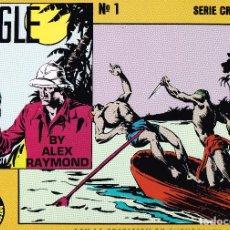 Cómics: JUNGLE JIM.NÚMERO 1.ALEX RAYMOND.EDICIONES ESEUVE.. Lote 131870630