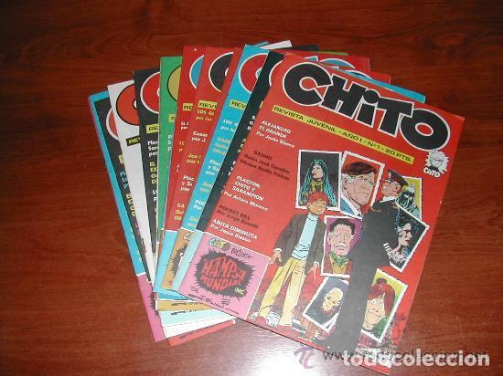CÓMIC CHITO LOTE DEL 1 AL 15 CUTO, JOE DAKOTA, LOS GUERRILLEROS, JIM DE LA JUNGLA, DAN LACOMBE, ETC. (Tebeos y Comics - Comics otras Editoriales Actuales)