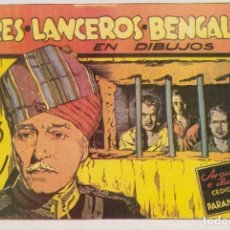 Cómics: PELICULAS: TRES LANCEROS BENGALIES. Lote 191585711